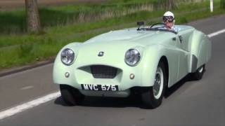 Record breaking Triumph TR2 returns to Jabbeke