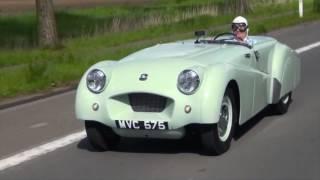 Record breaking Triumph TR2 returns to Jabbeke