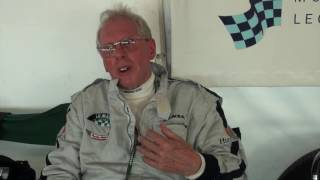 Le Mans Classic 2016 Interview with Barry 'Sideways' Sidery-Smith