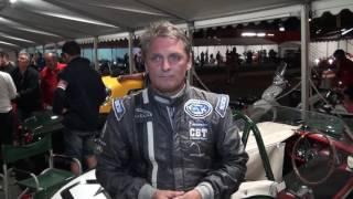 Le Mans Classic 2016 Triumph TR3S Night practice interview